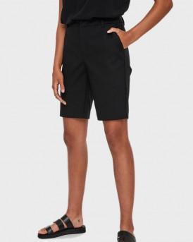 Vero Moda Classic Bermuda Shorts - 10211667 - ΜΑΥΡΟ