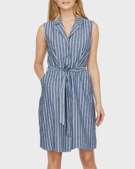 Vero Moda Φόρεμα With Stripes - 10227810 - ΣΙΕΛ