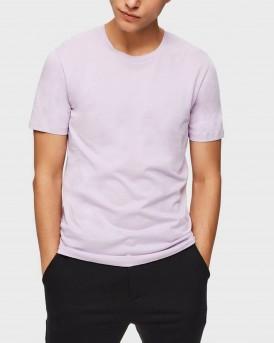 Selected T-Shirt Pima Cotton - 16059491 - ΛΙΛΑ