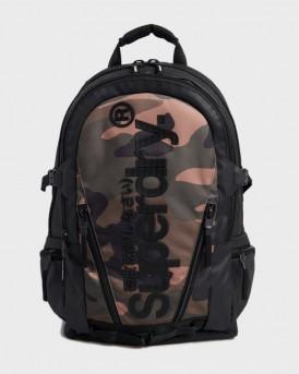 Superdry Trap Backpack Camo - M9110026Α - ΧΑΚΙ