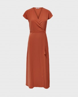 Only Dress Ancle Lenght - 15202591 - ΚΕΡΑΜΙΔΙ