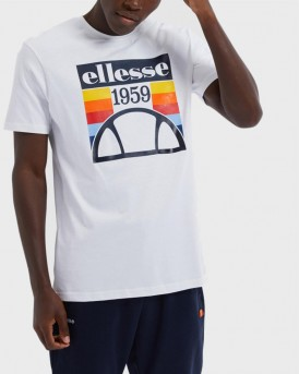 Ellesse T-Shirt Grapghic Print - SHE08533 - ΑΣΠΡΟ
