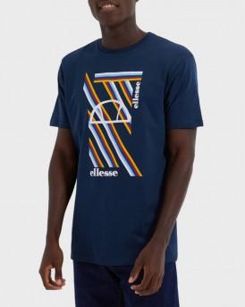 Ellesse T-Shirt Grapghic Print - SHΕ08534 - ΜΠΛΕ
