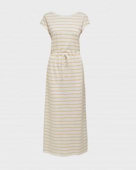 Only Dress Maxi Drawstring - 15202995 - ΑΣΠΡΟ