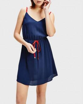 Tommy Hilfiger Mini Dress - DW0DW07914 - ΜΠΛΕ