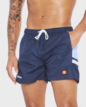 Ellesse Print Swim Shorts - SHΕ08545 - ΜΠΛΕ