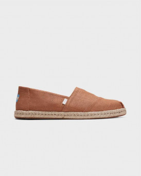 Toms Men's Espadrilles Brown Linen - 10015010 - ΚΑΦΕ