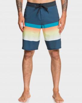 "Quiksilver Board Shorts Highline Slab 20"" Majolica Blue - EQYBS04328 - ΜΠΛΕ"