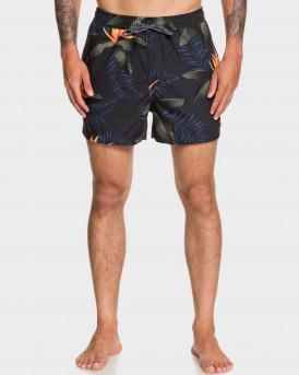 "Quiksilver Swim Shorts Poolsider 15"" Black - EQYJV03539 - ΜΠΛΕ"
