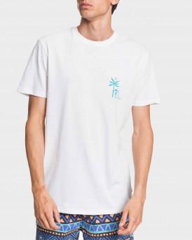 Quiksilver T-Shirt Morning Bird - EQYZT05821 - ΑΣΠΡΟ