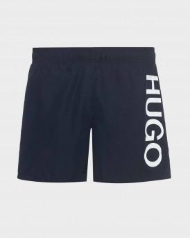Hugo Swim Shorts Logo In Quick-drying Fabric - 50429269 ΑΒΑS - ΜΠΛΕ