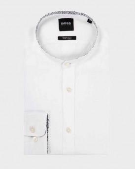 Boss Lamberto Shirt - 50427147 AMBERTO - ΑΣΠΡΟ