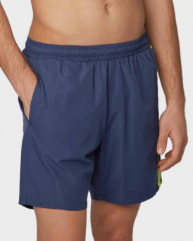 Boss Swim Shorts Medium-length Logo Print - 50407595 DOLPHIN - ΜΠΛΕ