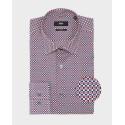 Boss Shirt Geometric Print - 50428176 JANGO - ΚΟΚΚΙΝΟ