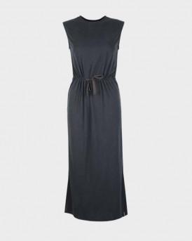 Superdry Dress Midi Desert Drawstring - W8010124A - ΜΑΥΡΟ