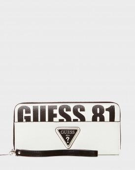 Guess Πορτοφόλι Maxi Size - VY766546 NARITA - ΑΣΠΡΟ