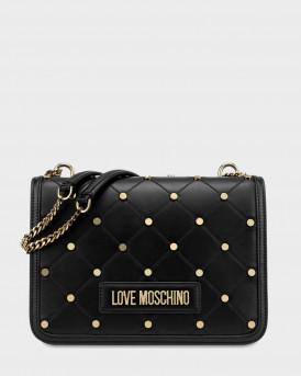 Love Moschino Τσάντα Crossbody - JC4094PP1ALP0 - ΜΑΥΡΟ