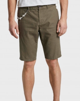 Tom Tailor Chino Shorts With a Drawstring Pendant - 1016428.XX.10 - ΛΑΔΙ