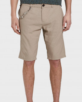 Tom Tailor Chino Shorts With a Drawstring Pendant - 1016428.XX.10 - ΜΠΕΖ