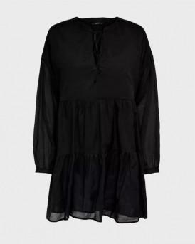 Only Φόρεμα Laggy Dress - 15201423 - ΜΑΥΡΟ