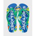 Jack & Jones Flip-Flops Geometric Print - 12169417 - ΜΠΛΕ
