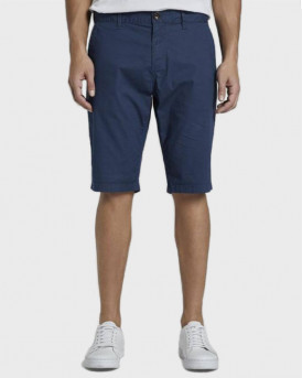 Tom Tailor Chino Shorts Josh- 1016331.ΧΧ.10 - ΜΠΛΕ