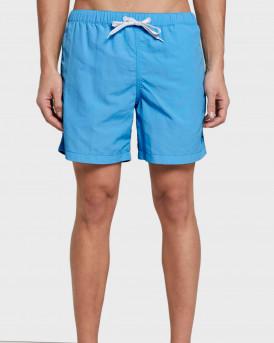 Tom Tailor Swim Shorts With Slanted Pockets - 1016510.ΧΧ.10 - ΣΙΕΛ