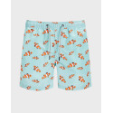 Jack & Jones Μαγιώ Printed Swim Shorts - 12169647 - ΜΑΥΡΟ