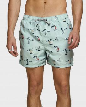 Jack & Jones Μαγιώ Aruba Swim Shorts - 12169644 - ΜΠΛΕ