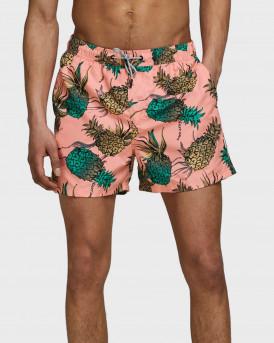 Jack & Jones Μαγιώ Swim Shorts With Print - 12172197 - ΣΟΜΟΝ