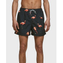 Jack & Jones Μαγιώ Swim Shorts With Print - 12172197 - ΜΑΥΡΟ