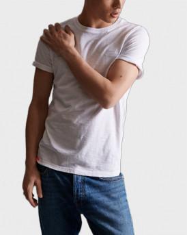 Superdry T-Shirt Low Roller - Μ1010025Α - ΑΣΠΡΟ