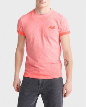 Superdry T-Shirt Low Roller - Μ1010025Α - ΚΟΡΑΛΛΙ