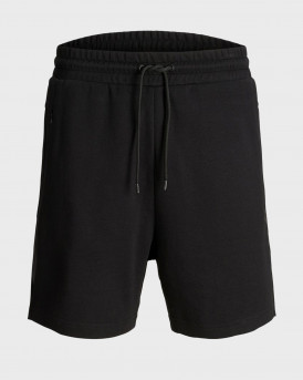 Jack & Jones Sweat Shorts Clean Cut - 12151564 - ΜΑΥΡΟ