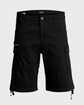 Jack & Jones Cargo Shorts - 12154600 - ΜΑΥΡΟ