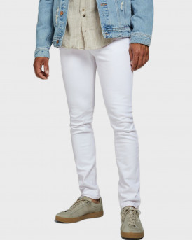Jack & Jones Jeans Slim Fit Glen Felix AM 346 - 12172405 - ΑΣΠΡΟ