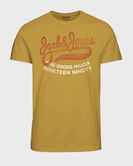 Jack & Jones T-Shirt Crew Neck - 12184912 - ΜΟΥΣΤΑΡΔΙ