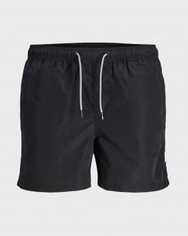 Jack & Jones Μαγιώ Classic Swim Shorts - 12166349 - ΜΑΥΡΟ