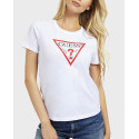 Guess Τ-Shirt Triangle Logo - W0YI57K8HM0 - ΜΑΥΡΟ