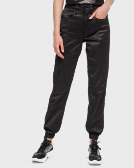 Guess Παντελόνι Roby Jogger - W0YA40D43K1 - ΜΑΥΡΟ