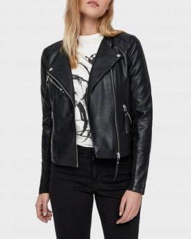 Vero Moda Δερμάτινο PU Leather Look Jacet - 10211420 - ΜΑΥΡΟ