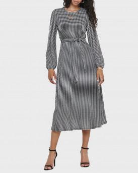 Only Φόρεμα Printed Dress - 15214067 - ΑΣΠΡΟ