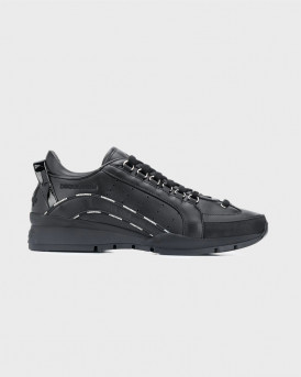 DSQUARED2 SNEAKERS LOW TOP 551 - SNM012201503113 - ΜΑΥΡΟ