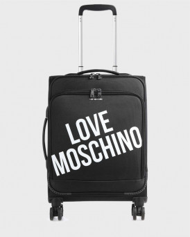 LOVE MOSCHINO ΒΑΛΙΤΣΑ TRAVEL SPINNER- JC5100PP1BLU1 - ΜΑΥΡΟ