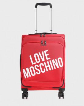 LOVE MOSCHINO ΒΑΛΙΤΣΑ TRAVEL SPINNER- JC5100PP1BLU1 - ΚΟΚΚΙΝΟ