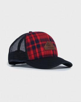 Superdry Καπέλο Vermont Trucker Cap - M9010076A - ΚΟΚΚΙΝΟ