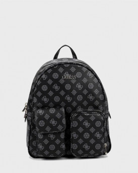 GUESS BACKPACK UTILITY VIBE LOGO - SP775133 - ΑΝΘΡΑΚΙ