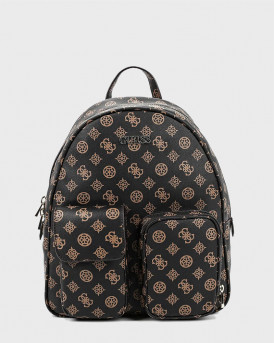GUESS BACKPACK UTILITY VIBE LOGO - SP775133 - ΚΑΦΕ