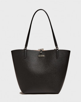 GUESS SHOPPER BAG ALBY - VG745523 - ΜΑΥΡΟ