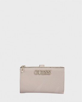 GUESS WALLET UPTOWN CHIC STONE - VG730157 UPTOWNCHIC - MΠΕΖ